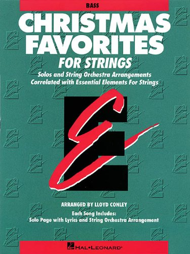 9780793583942: Essential Elements Christmas Favorites for Strings: String Bass (Essential Elements for Strings)