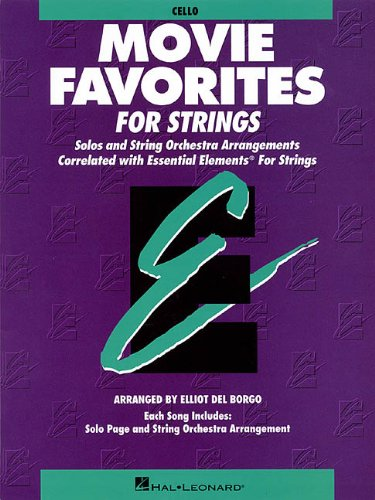 9780793584215: Essential Elements Movie Favorites for Strings: Cello