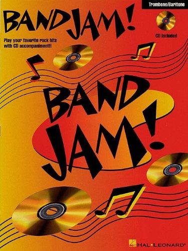 9780793584666: BAND JAM TROMBONE BARITONE BK/CD