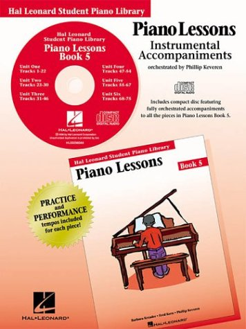 9780793584710: Piano Lessons - Book 5 - CD