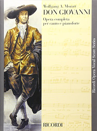 9780793584802: DON GIOVANNI VOCAL SCORE PAPER ITALIAN