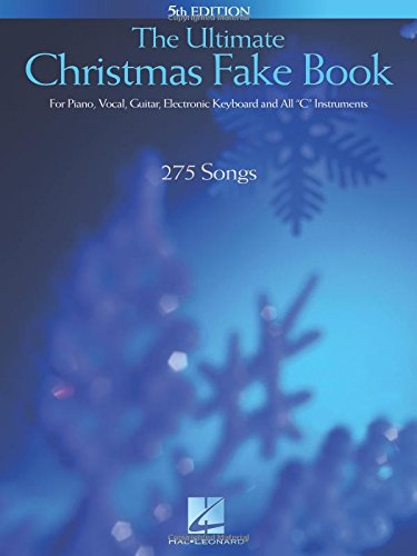 Electronic Instruments Books : The ultimate christmas fake book for piano vocal guitar