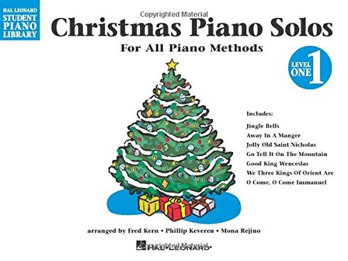 9780793585779: Christmas Piano Solos, Level 1