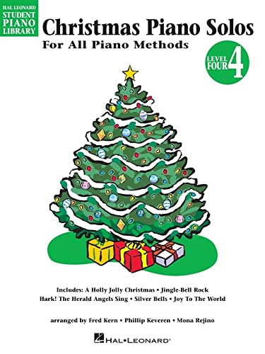 9780793585809: Christmas Piano Solos, Level 4: For All Piano Methods (Hal Leonard Student Piano Library)