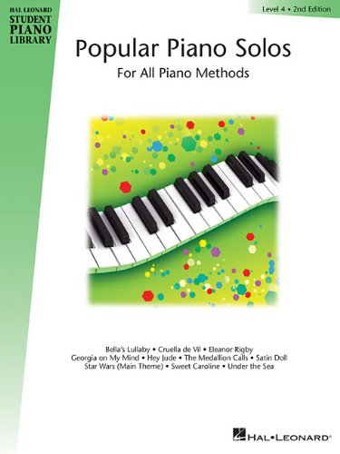 9780793585854: Popular Piano Solos - Level 4: Hal Leonard Student Piano Library