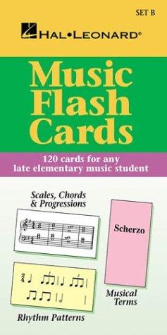 9780793586240: Hl Flash Cards Set B Hl Student Piano Library International