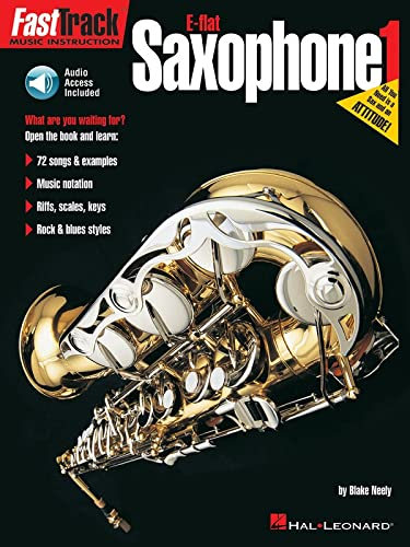 9780793587131: FastTrack E-flat Saxophone 1 (Book & Online Audio) (FastTrack Music Instruction)