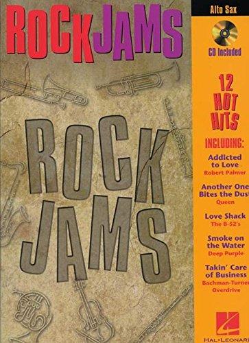 9780793587261: ROCK JAMS ALTO SAX CD/PKG