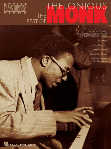 9780793587483: The Best of Thelonious Monk: Piano Transcriptions (Artist Transcriptions)