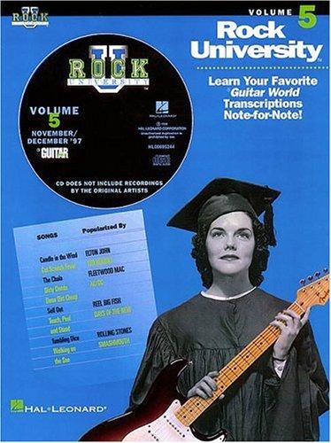 Rock University Vol 5 (9780793587551) by Hal Leonard Publishing Corporation