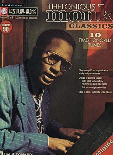 9780793587605: Thelonious Monk Classics: Jazz Play-Along Volume 90 (Jazz Play Along) (Hal Leonard Jazz Play-Along)