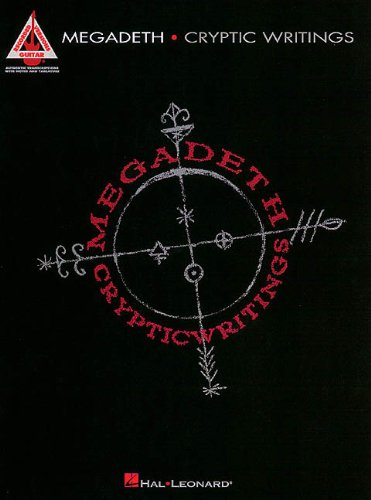 9780793587858: Megadeth - Cryptic Writings