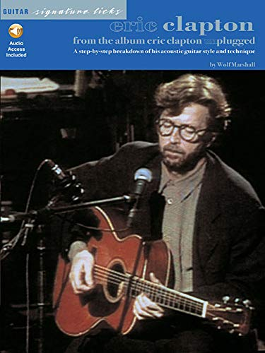 9780793587926: Eric Clapton from the Album Unplugged Guitare +CD (Guitar Signature Licks)