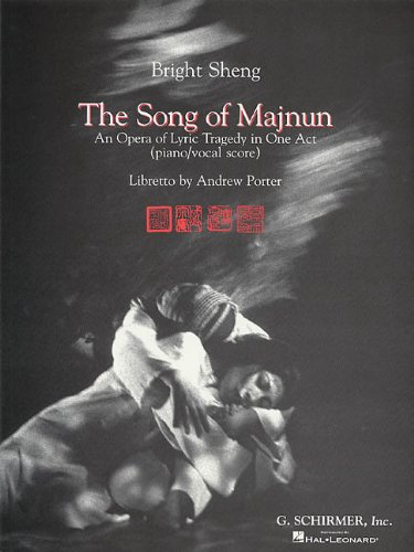 The Song of Majnun: Vocal Score: n/a