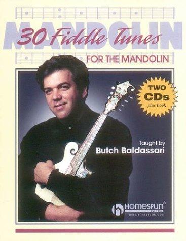 9780793588428: 30 Fiddle Tunes For Mandolin Taught By Butch Baldassari