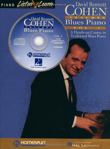 9780793588572: David Bennett Cohen Teaches Blues Piano, Volume 2 [With *] (Listen & Learn)