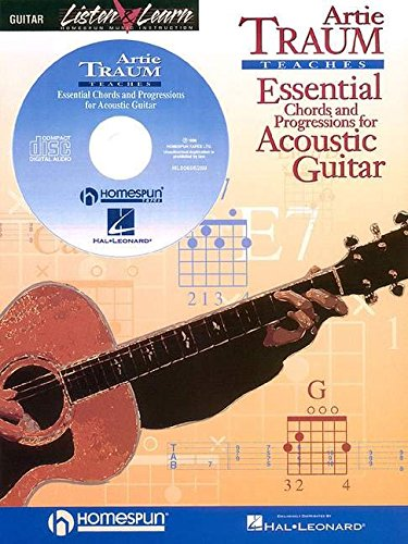 9780793588589: TRAUM ESSENTIAL CHORDS AND PROGRESSIONS FOR ACOUSTIC GUITAR BK/CD