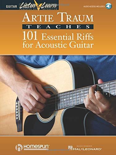 9780793588596: TRAUM ARTIE 101 ESSENTIAL RIFFS FOR ACOUSTIC GUITAR LISTEN & LEARN