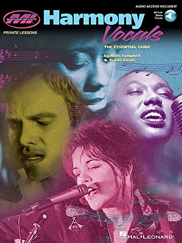 9780793588787: Harmony Vocals (the Essential Guide) +CD (Private Lessons)