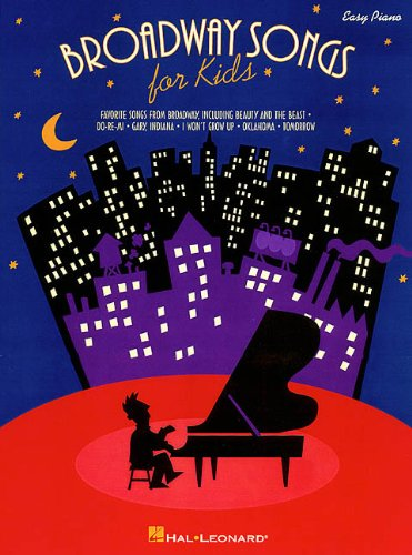 9780793589043: Broadway Songs for Kids (Easy Piano Songbook)