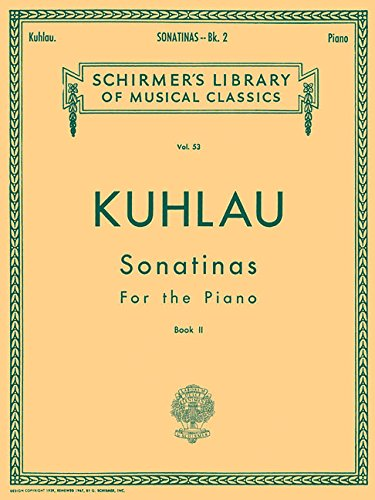 9780793589142: SONATINAS FOR THE PIANO BOOK 2
