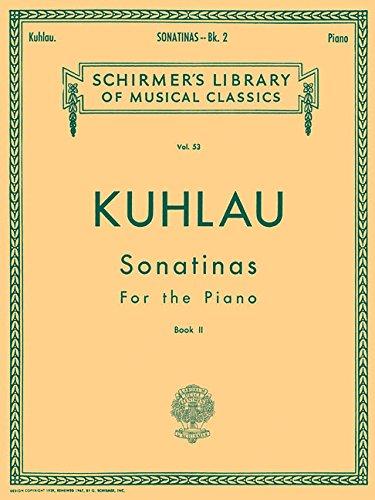 Sonatinas - Book 2: Piano Solo: Klee, Ludwig [Editor];