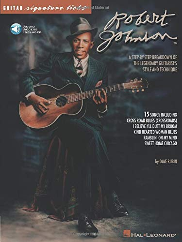 9780793589210: Robert Johnson - Signature Licks: A Step-by-Step Breakdown of the Legendary Guitarist's Style and Technique
