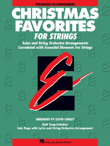 Christmas Favorites, Percussion Accompaniment: Solos and String: Conley, Lloyd