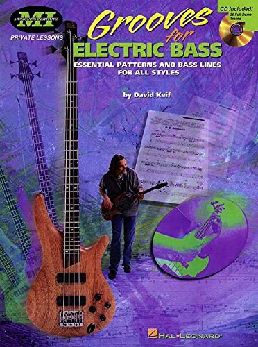 9780793589258: Grooves for Electric Bass: Essential Patterns and Bass Lines for All Styles (Musicians Institute Private Lessons)