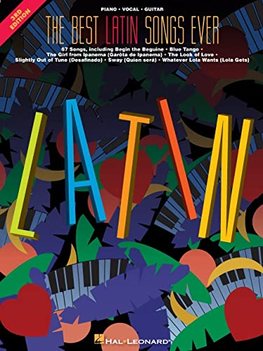 9780793589340: The best latin songs ever piano, voix, guitare (Pvg)