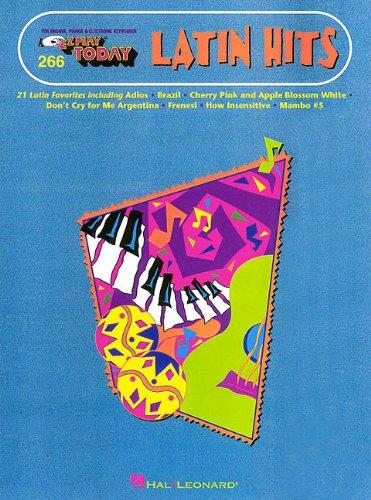 9780793589418: Latin Hits: E-Z Play Today Volume 266