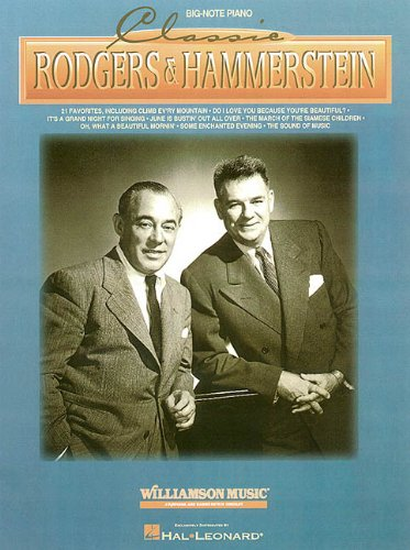 9780793589777: Classic Rodgers & Hammerstein (Big Notes Series)