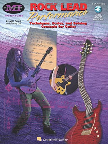 9780793590582: Rock Lead Performance Techniques, Scales and Soloing Concepts for Guitar