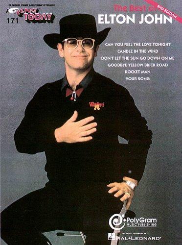 9780793591381: The Best of Elton John: E-Z Play Today Volume 171
