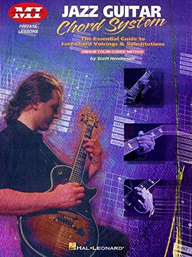 9780793591657: Jazz Guitar Chord System (Acoustic Guitar Magazine's Private Lessons)