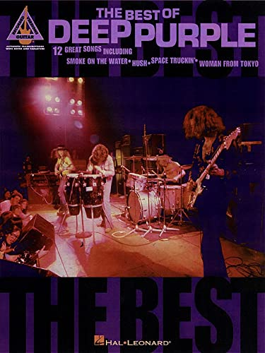 9780793591923: The Best of Deep Purple (Guitar Recorded Version)