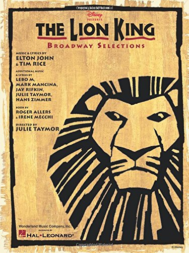 9780793591947: The Lion King - Broadway Selections