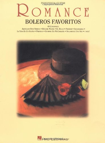 9780793593040: Romance: boleros favoritos: piano / vocal / guitar (Spanish Edition)