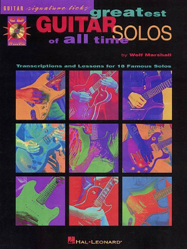 9780793593095: Greatest Guitar Solos of All Time: Signature Licks