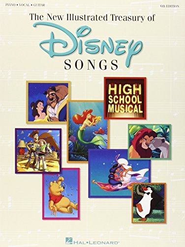 9780793593651: The New Illustrated Treasury of Disney Songs: Piano-Vocal-Guitar