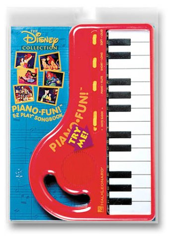 9780793593736: The Disney Collection Piano Fun!: E-Z Play Songbook