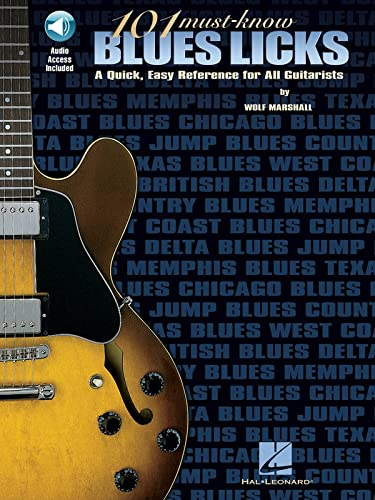 9780793595877: 101 Must-Know Blues Licks: A Quick, Easy Reference for All Guitarists