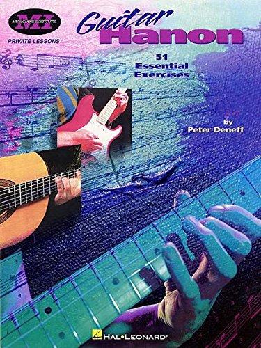 9780793595907: Guitar Hanon (Private Lessons / Musicians Institute)