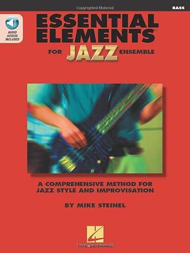 9780793596287: Essential Elements For Jazz Bass Bk with online media (Instrumental Jazz)