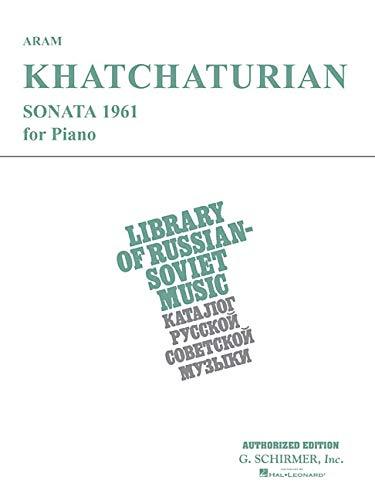 9780793596690: Sonata (1961): Piano Solo (Piano Large Works)