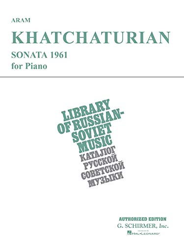 Sonata (1961): Piano Solo: Khachaturian, Aram