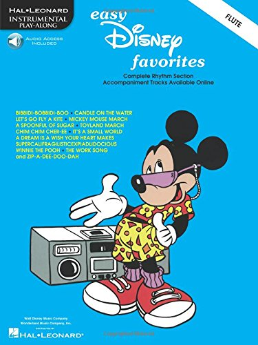 9780793597147: EASY DISNEY FAVORITES FLUTE BK/CD