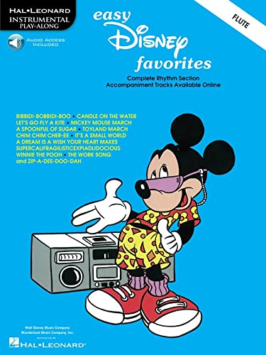9780793597147: Easy Disney Favorites: Flute Play-Along Pack