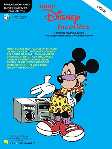 9780793597154: Easy Disney Favorites: Violin Play-Along Pack