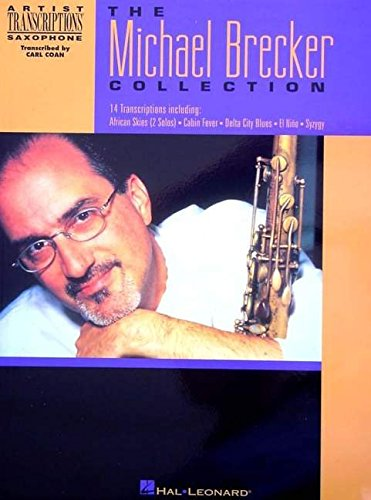 9780793597550: The michael brecker collection saxophone